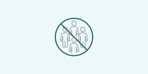人数の制限アイコン