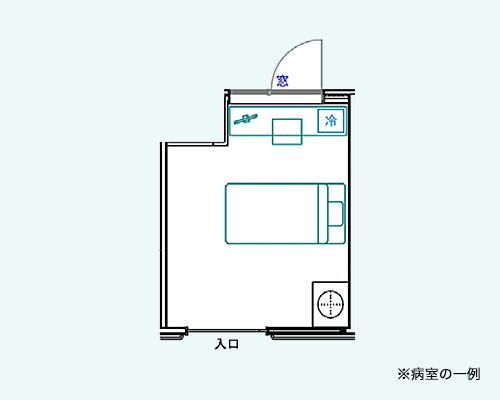 一般個室間取図